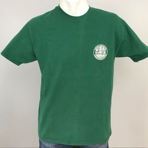 Vintage Ducks Unlimited Green T Shirt L USA Made